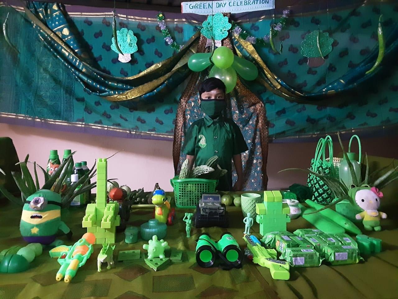 Kindergarten Green Day Celebration
