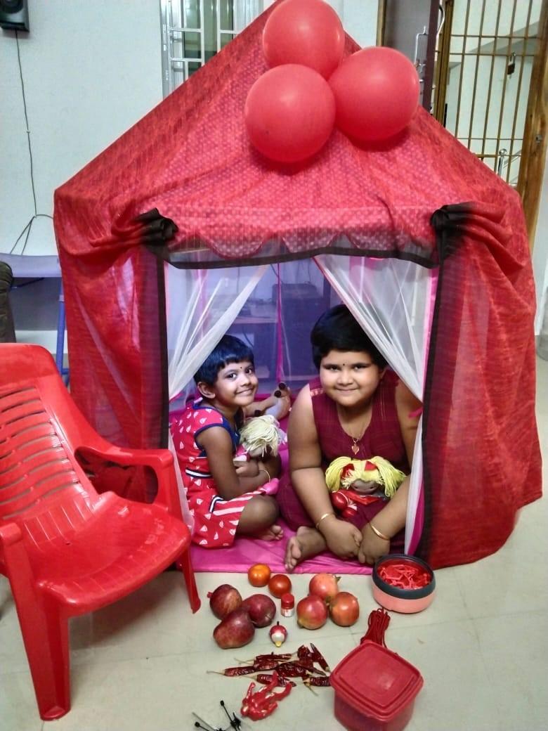 Kindergarten Red day Celebration